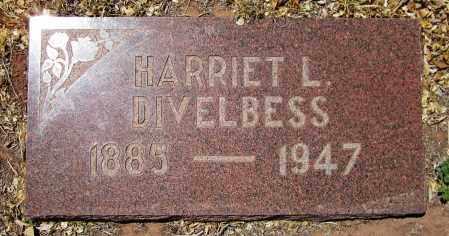 DIVELBESS, HARRIET L. - Navajo County, Arizona | HARRIET L. DIVELBESS - Arizona Gravestone Photos