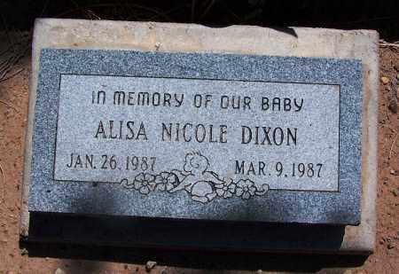 DIXON, ALISA NICOLE - Navajo County, Arizona | ALISA NICOLE DIXON - Arizona Gravestone Photos