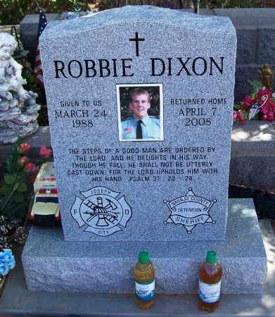 DIXON, ROBBIE - Navajo County, Arizona | ROBBIE DIXON - Arizona Gravestone Photos