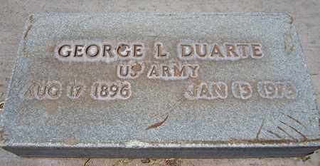 DUARTE, GEORGE L. - Navajo County, Arizona | GEORGE L. DUARTE - Arizona Gravestone Photos
