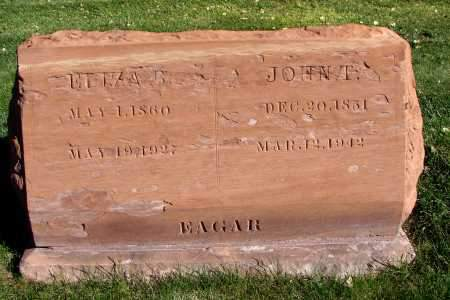 EAGAR, JOHN THOMAS - Navajo County, Arizona   JOHN THOMAS EAGAR - Arizona Gravestone Photos