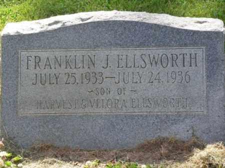 ELLSWORTH, FRANKLIN J. - Navajo County, Arizona | FRANKLIN J. ELLSWORTH - Arizona Gravestone Photos