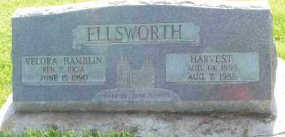 HAMBLIN ELLSWORTH, VELORA - Navajo County, Arizona | VELORA HAMBLIN ELLSWORTH - Arizona Gravestone Photos
