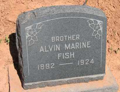 FISH, ALVIN MARINE - Navajo County, Arizona | ALVIN MARINE FISH - Arizona Gravestone Photos