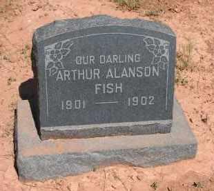 FISH, ARTHUR ALANSON - Navajo County, Arizona | ARTHUR ALANSON FISH - Arizona Gravestone Photos
