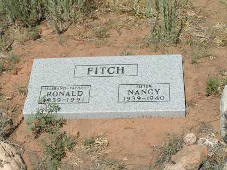 FITCH, RONALD - Navajo County, Arizona | RONALD FITCH - Arizona Gravestone Photos