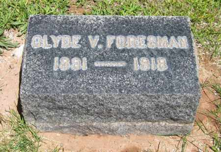 FORESMAN, CLYDE V. - Navajo County, Arizona | CLYDE V. FORESMAN - Arizona Gravestone Photos