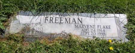 FREEMAN, MARVENE - Navajo County, Arizona | MARVENE FREEMAN - Arizona Gravestone Photos