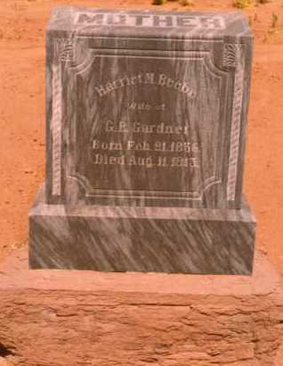 BEEBE GARDNER, HARRIET MARIA - Navajo County, Arizona | HARRIET MARIA BEEBE GARDNER - Arizona Gravestone Photos