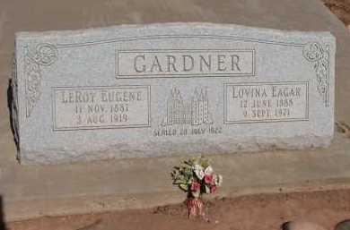 GARDNER, LEROY EUGENE - Navajo County, Arizona | LEROY EUGENE GARDNER - Arizona Gravestone Photos