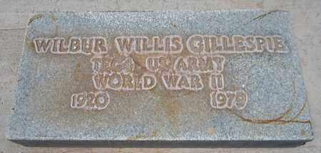 GILLESPIE, WILBUR WILLIS - Navajo County, Arizona   WILBUR WILLIS GILLESPIE - Arizona Gravestone Photos