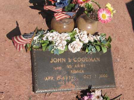 GOODMAN, JOHN L. - Navajo County, Arizona | JOHN L. GOODMAN - Arizona Gravestone Photos