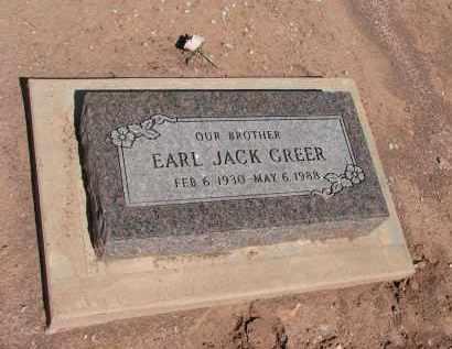 GREER, EARL JACK - Navajo County, Arizona | EARL JACK GREER - Arizona Gravestone Photos
