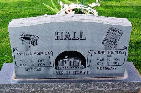 MORRIS HALL, ANNELLA - Navajo County, Arizona | ANNELLA MORRIS HALL - Arizona Gravestone Photos