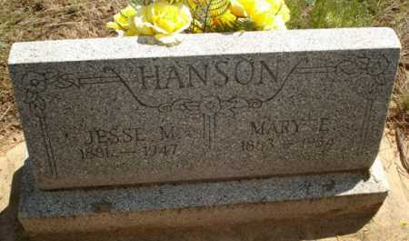 HANSON, MARY E. - Navajo County, Arizona | MARY E. HANSON - Arizona Gravestone Photos