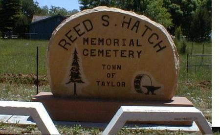 HATCH, REED S. - Navajo County, Arizona | REED S. HATCH - Arizona Gravestone Photos