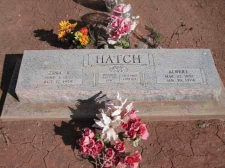 HATCH, ZINA - Navajo County, Arizona | ZINA HATCH - Arizona Gravestone Photos