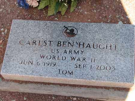 HAUGHT, CARLST BEN - Navajo County, Arizona | CARLST BEN HAUGHT - Arizona Gravestone Photos