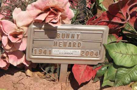 HEWARD, BUNNY - Navajo County, Arizona   BUNNY HEWARD - Arizona Gravestone Photos