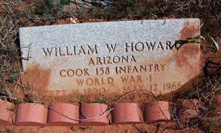 HOWARD, WILLIAM W - Navajo County, Arizona   WILLIAM W HOWARD - Arizona Gravestone Photos