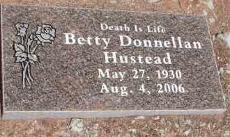 HUSTEAD, BETTY DONNELLAN - Navajo County, Arizona | BETTY DONNELLAN HUSTEAD - Arizona Gravestone Photos