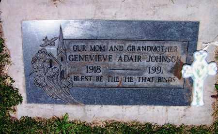 JOHNSON, GENEVIEVE - Navajo County, Arizona | GENEVIEVE JOHNSON - Arizona Gravestone Photos