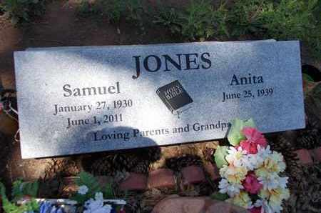 JONES, SAMUEL - Navajo County, Arizona | SAMUEL JONES - Arizona Gravestone Photos