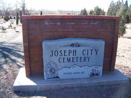 *JOSEPH CITY, CEMETERY GATE - Navajo County, Arizona | CEMETERY GATE *JOSEPH CITY - Arizona Gravestone Photos