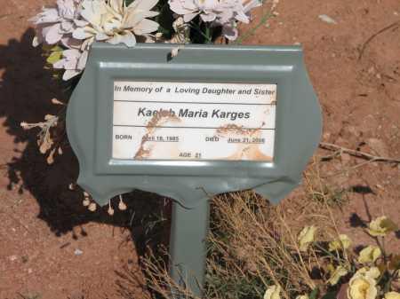 KARGES, KAELEB MARIA - Navajo County, Arizona | KAELEB MARIA KARGES - Arizona Gravestone Photos