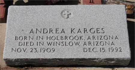 KARGES, ANDREA MARIA - Navajo County, Arizona | ANDREA MARIA KARGES - Arizona Gravestone Photos