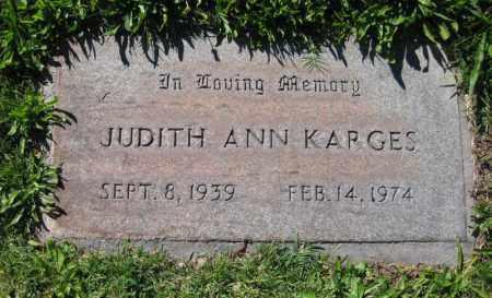KARGES, JUDITH ANN - Navajo County, Arizona | JUDITH ANN KARGES - Arizona Gravestone Photos