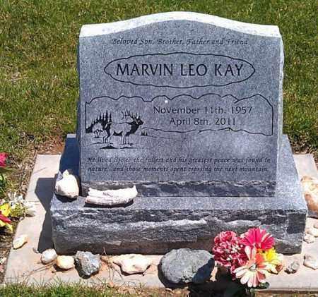 KAY, MARVIN LEO - Navajo County, Arizona | MARVIN LEO KAY - Arizona Gravestone Photos