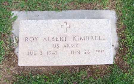 KIMBRELL, ROY ALBERT - Navajo County, Arizona   ROY ALBERT KIMBRELL - Arizona Gravestone Photos