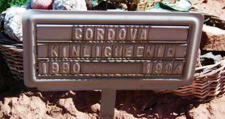 KINLICHEENIE, CORDOVA - Navajo County, Arizona | CORDOVA KINLICHEENIE - Arizona Gravestone Photos