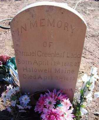 LADD, SAMUEL GREENLEAF - Navajo County, Arizona   SAMUEL GREENLEAF LADD - Arizona Gravestone Photos