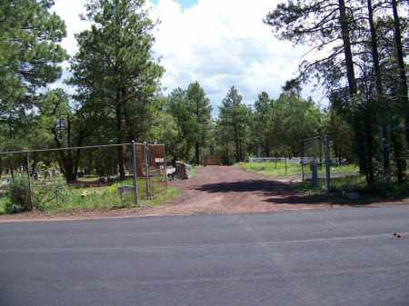 *LAKESIDE, CEMETERY OVERVIEW - Navajo County, Arizona | CEMETERY OVERVIEW *LAKESIDE - Arizona Gravestone Photos