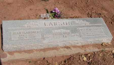 LARSON, JEAN - Navajo County, Arizona | JEAN LARSON - Arizona Gravestone Photos