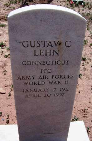 LEHN, GUSTAV - Navajo County, Arizona   GUSTAV LEHN - Arizona Gravestone Photos