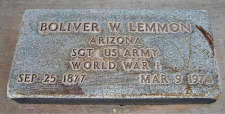 LEMMON, BOLIVER W. - Navajo County, Arizona | BOLIVER W. LEMMON - Arizona Gravestone Photos