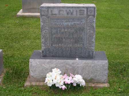 BREWER LEWIS, EMMA J. - Navajo County, Arizona | EMMA J. BREWER LEWIS - Arizona Gravestone Photos