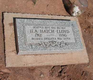 LLOYD, ILA HATCH - Navajo County, Arizona | ILA HATCH LLOYD - Arizona Gravestone Photos