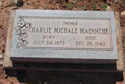 MAENNCHE, CHARLIE MICHALE - Navajo County, Arizona | CHARLIE MICHALE MAENNCHE - Arizona Gravestone Photos