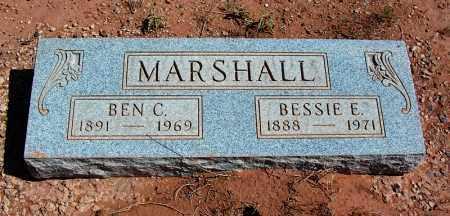 MARSHALL, BESSIE E. - Navajo County, Arizona | BESSIE E. MARSHALL - Arizona Gravestone Photos