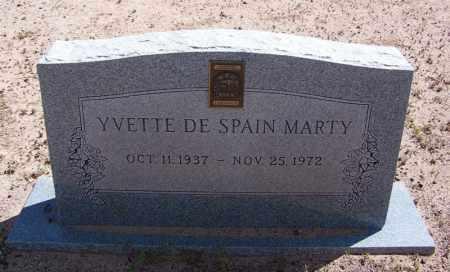 MARTY, YVETTE - Navajo County, Arizona | YVETTE MARTY - Arizona Gravestone Photos