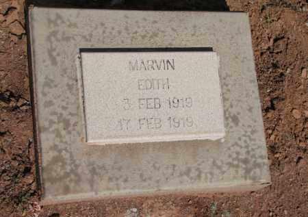 MARVIN, EDITH - Navajo County, Arizona | EDITH MARVIN - Arizona Gravestone Photos