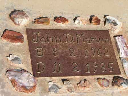 MARVIN, JOHN D. - Navajo County, Arizona | JOHN D. MARVIN - Arizona Gravestone Photos