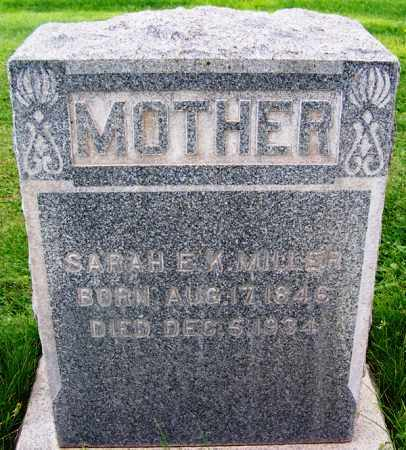 MILLER, SARAH E. K. - Navajo County, Arizona | SARAH E. K. MILLER - Arizona Gravestone Photos