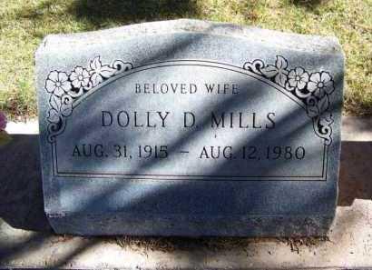 MILLS, DOLLY D. - Navajo County, Arizona | DOLLY D. MILLS - Arizona Gravestone Photos