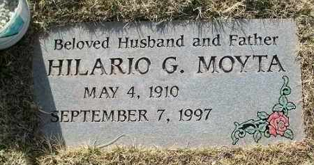 MOYTA, HILARIO G - Navajo County, Arizona   HILARIO G MOYTA - Arizona Gravestone Photos