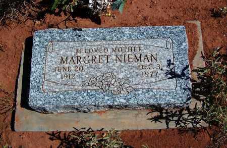 NIEMAN, MARGRET - Navajo County, Arizona | MARGRET NIEMAN - Arizona Gravestone Photos